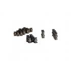 Traxxas: Hliníkové kulové čepy, PTFE povlak (sada)