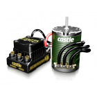 Castle motor 1410 3800ot/V 3.17mm senzored, reg. Sidewinder 4