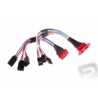 Prodlužovací kabel MPX pro 3 serva