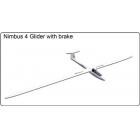 FlyFly Nimbus 4 Glider, 4m