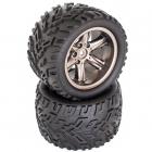 Nalepené pneumatiky (2ks) - DT12 NEO