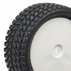 Přední nalepené Off Road 1/10 gumy, hrubý silniční profil, 2 ks.