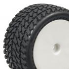 Zadní nalepené Off Road 1/10 gumy, hrubý silniční profil, 2 ks.