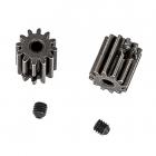 Motorý pastorek 12 zubů + imbus červíky 3x3mm (2 ks.)