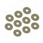 Dif. podložky 3.6 x 12 x 0.1mm