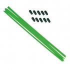 Anténové trubičky RC AUTA 10 ks. - zelené