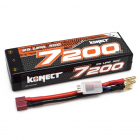 KONECT LiPo 7200mah 7.4V 50C 2S1P 53,2Wh (T-Dean )