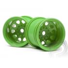 Zelené disky pro truggy (2 ks)