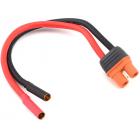 Spektrum konverzní kabel IC3 baterie - 4mm dutinky