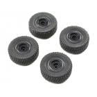 ECX Kolo s pneu (4): 1:24 Barrage UV