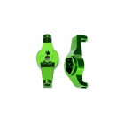 Traxxas závěs těhlice hliníkový zelený (pár): TRX-4