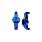 Traxxas závěs těhlice hliníkový modrý (pár): TRX-4