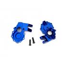 Traxxas vnitřní díl přední nápravy hliníkový modrý (2): TRX-4
