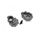 Traxxas vnitřní díl zadní nápravy hliníkový šedý (2): TRX-4