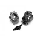 Traxxas lože zadní portálové nápravy hliníkové šedé (pár): TRX-4