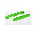 Traxxas přepážka šasi hliníková zelená (P+Z)