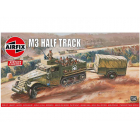 Airfix M3 Half Track, 1 Ton Trailer (1:76) (Vintage)