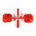 Axial kryt diferenciálu červený AR44