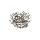 Traxxas Hardware kit, stainless steel, beadlock rings