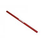 Traxxas centrální hřídel hliníková červená 189mm