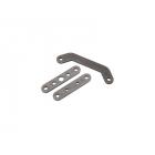 Traxxas Bulkhead tie bar, rear, upper (1)/ lower front (1)/ lower rear (1) (steel)