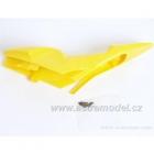 M5 Race - kapotáž horní žlutá