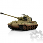 TORRO tank PRO 1/16 RC Kingtiger sand - infra