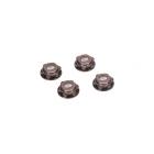 8B,8T 2.0: Kryt matice kol 17mm hliník šedý (4)
