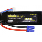 Black Magic LiPol Car 14.8V 6500mAh 50C EC5