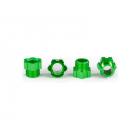Traxxas matice hřídele hliníková zelená (4)