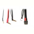 Univerzální nabíjecí kabel - 2S LiPo HARDCASE z XT60 na P4/5 včetně balančního adaptéru XH