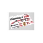 Cumulus 200 Brushless - samolepky