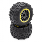 STX - kompletní gumy, nalepené, 2 ks.