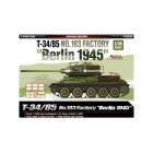 Academy T-34/85 No.183 Berlin 1945 (1:35)