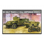 Academy M3 U.S Half Track (1:72)