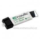 Baterie LiPol 3.7V 70mAh: Ember, Vapor