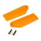 Blade 130 X: Listy ocasní vrtulky oranžové