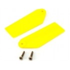 Blade 130 X: Listy ocasní vrtulky žluté