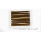 Závitová tyč mosaz M2x25 (10)