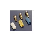 Konektor zlacený 3.5mm samec s bužírkou (3)