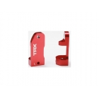 Traxxas - závěs těhlice hliník červený 30° (L+P)