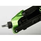 Traxxas hliníková zadní těhlice zelená(2)