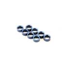Traxxas - distanční kroužek hliník modrý (8)