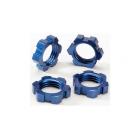 Traxxas matice kol 17mm hliníková modrá (4)