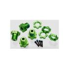 Traxxas náboj kola 17mm hliníkový zelený (4)