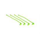 Traxxas plastový klip karosérie zelený (4)