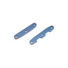 Traxxas - přepážka šasi hliníková modrá (P+Z)