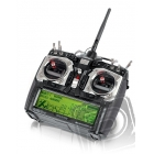 AURORA 9 9-kanálová 2.4GHz, Minima 6T & Optima7, TX aku (mode 1)