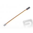 4603 S prodlužovací kabel 15cm JR plochý silný, zlacené kontakty