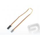 4604 S prodlužovací kabel 30cm JR plochý silný, zlacené kontakty